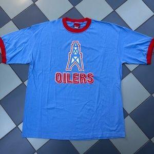 Houston Oilers Reebok Ringer T Shirt